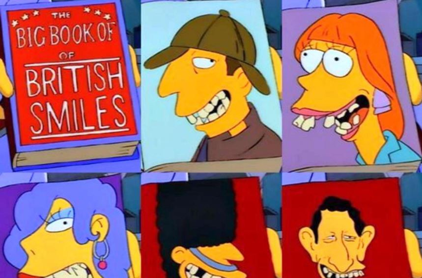 The Simpsons - Book of British Smiles